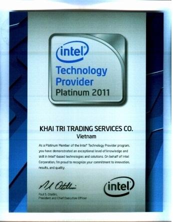 Khai Trí Tiếp Tục Giữ Vững Vị Trí Intel Technology Provider Program - Platinum Member Của Intel